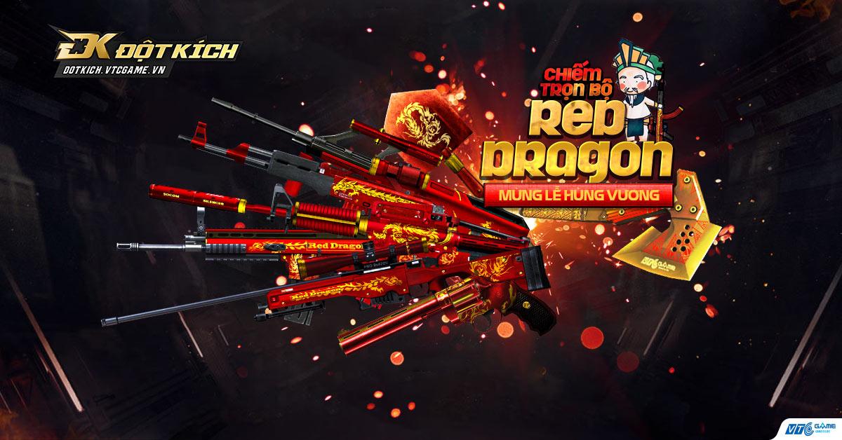 [Đột Kích] Trọn bộ Red Dragon về tay game thủ
