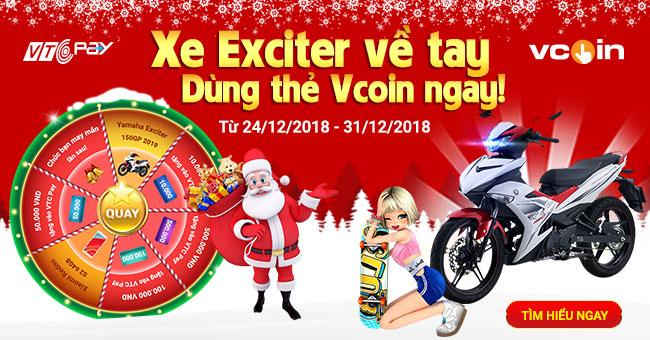 Hòa cùng không khí tưng bừng mừng lễ Giáng Sinh năm nay, VTC Pay sẽ mang  tới bạn một sự kiện siêu hấp hẫn.