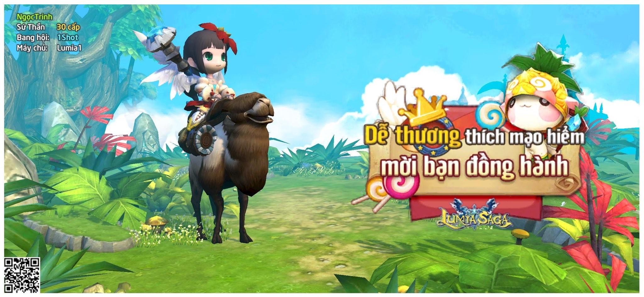 Game mobile Lumia Saga Chiến Binh Ánh Sáng - MMORPG 3D hay nhất 2021 Anh%205